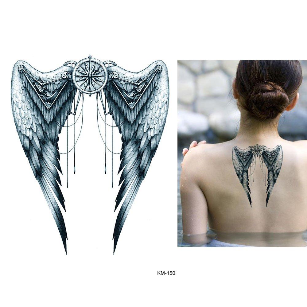 Rücken engel teufel tattoo 40 Best