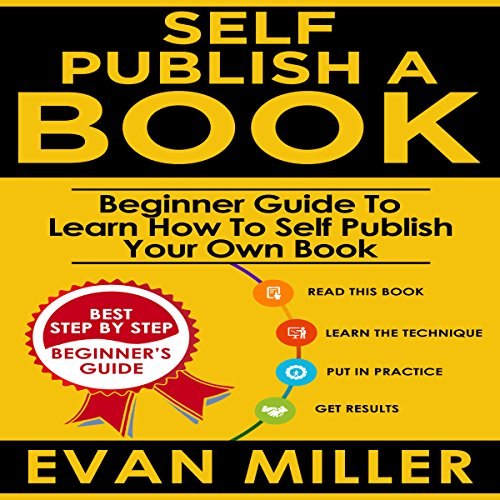 Self Publish a Book audiobook cover art