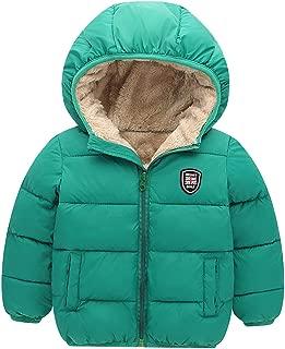 Toddler Winter Warm Coat Kids Hooded Down Jacket 2-7T