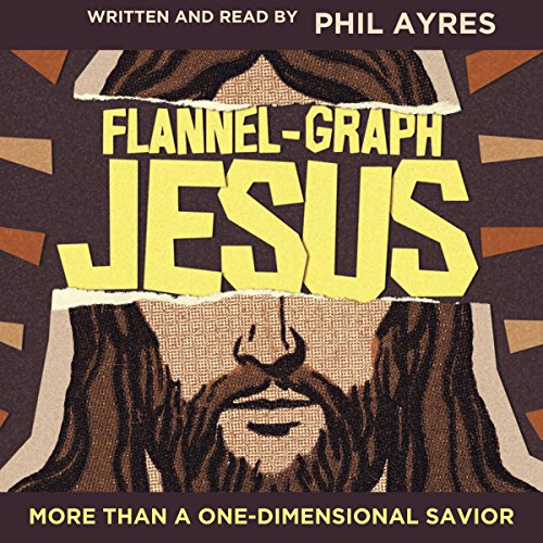 Flannel-Graph Jesus audiobook cover art