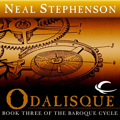 Odalisque audiobook cover art