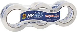 Duck HP260C03 Packing Tape Refill, 3 Rolls, 1.88 Inch x 60 Yard, Clear (655074)