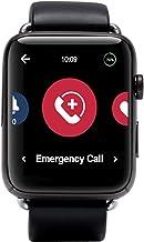 Handsfree Health - WellBe Emergency Alert 4G Smart Watch - Medical Monitoring Device for Seniors & Elderly - Heart Rate Mo...