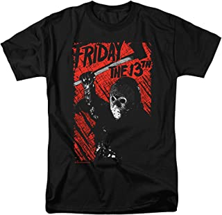 Friday The 13th Movie Jason Lives T Shirt & Stickers
