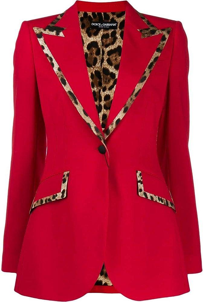 Dolce & gabbana luxury fashion,blazer,giacca per donna,86% lana, 10% seta, 4% elastan F297QTFUBEIR0156