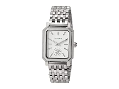 Tory Burch Robinson Bracelet Watch (Silver) Watches