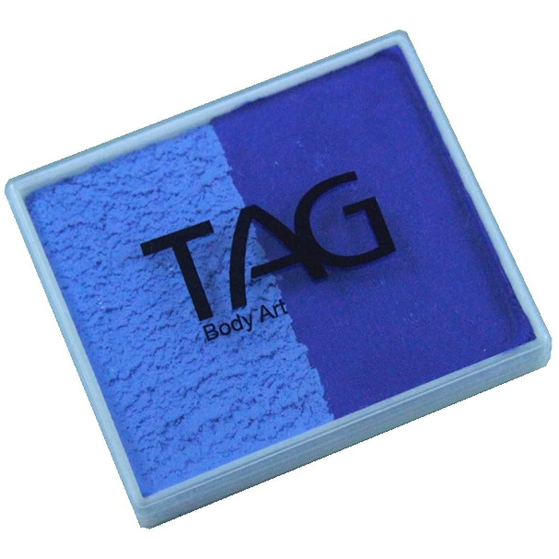 TAG 2 Color Split Cake - Powder Blue and Royal Blue (50 gm)