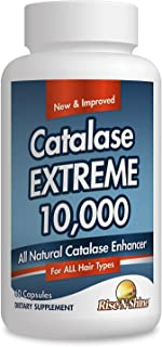 Sponsored Ad - Catalase Extreme 10,000 Catalase Hair Supplement with Catalase, Saw Palmetto, FoTi, Biotin, PABA and More 6...