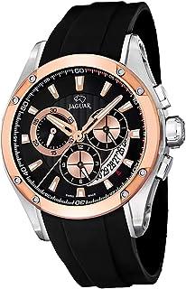 JAGUAR - Reloj Modelo J689/1 de la colección Special Edition, Caja de 45 mm Correa de Caucho Negro para Caballero