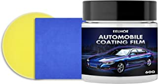 Canned Auto Coated Wax Waterproof Anti-Dust Prevent Scratches Heat-Resistant Brighten Auto Surface Gloss