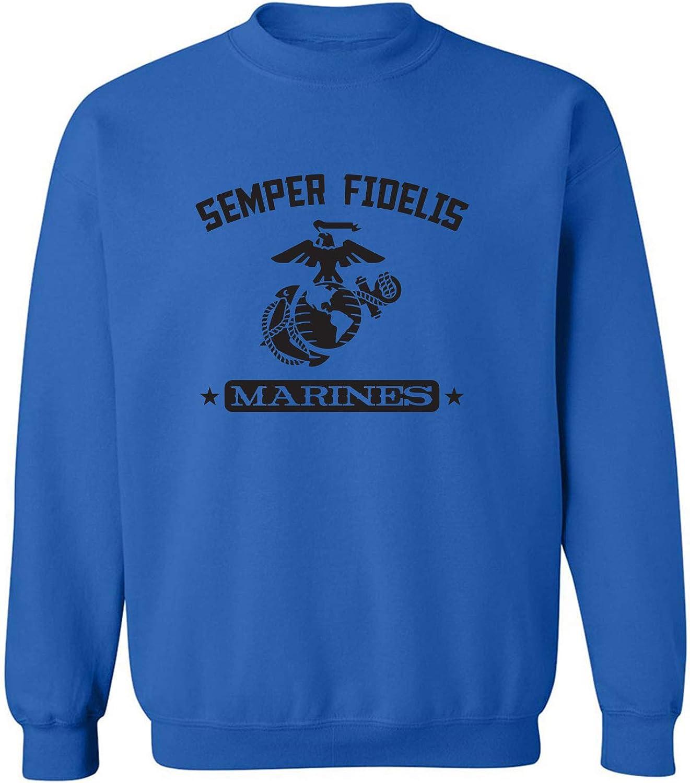 zerogravitee Semper Fidelis Marines Crewneck Sweatshirt