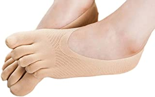 Calcetines Socks by Invisibilidad de los Calcetines de la Punta de Cinco pies para los Calcetines de Color sólido calcetín de Mujer Socks Calcetines con Cinco Dedos