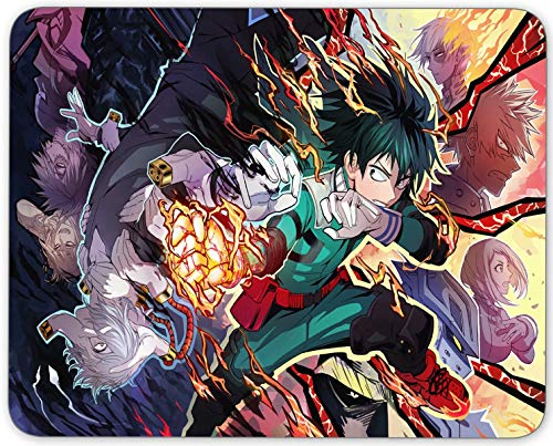 My Hero Academia Mouse Pad Non Slip Rubber Mousepad Gaming Office Rectangle Mouse Mat