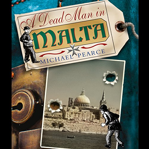 A Dead Man in Malta audiobook cover art