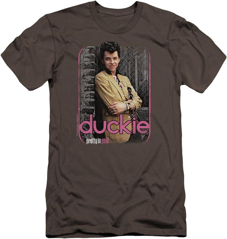 Pretty in Pink  Mens Just Duckie Premium Slim Fit TShirt