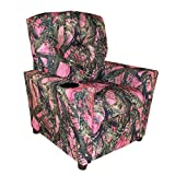 Dozydotes Child Recliner with Cup Holder Camouflage Pink - True Timber DZD11820