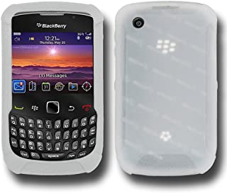 Amzer Silicone Skin Jelly Case for BlackBerry Curve 3G 9300, Curve 8520, and Curve 8530 - Transparent White