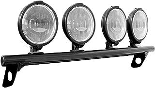 N-FAB F99350LB-TX Textured Black Light Bar; Light Tabs Ford F250 / F350 Super Duty / Excursion  99-07