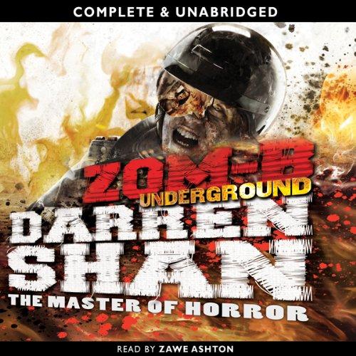 Zom-B: Underground audiobook cover art