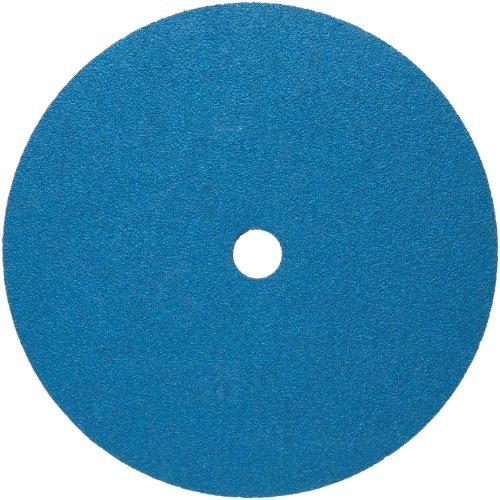 Norton BlueFire F826P Abrasive Disc, Fiber Backing, Zirconia Alumina, 7/8