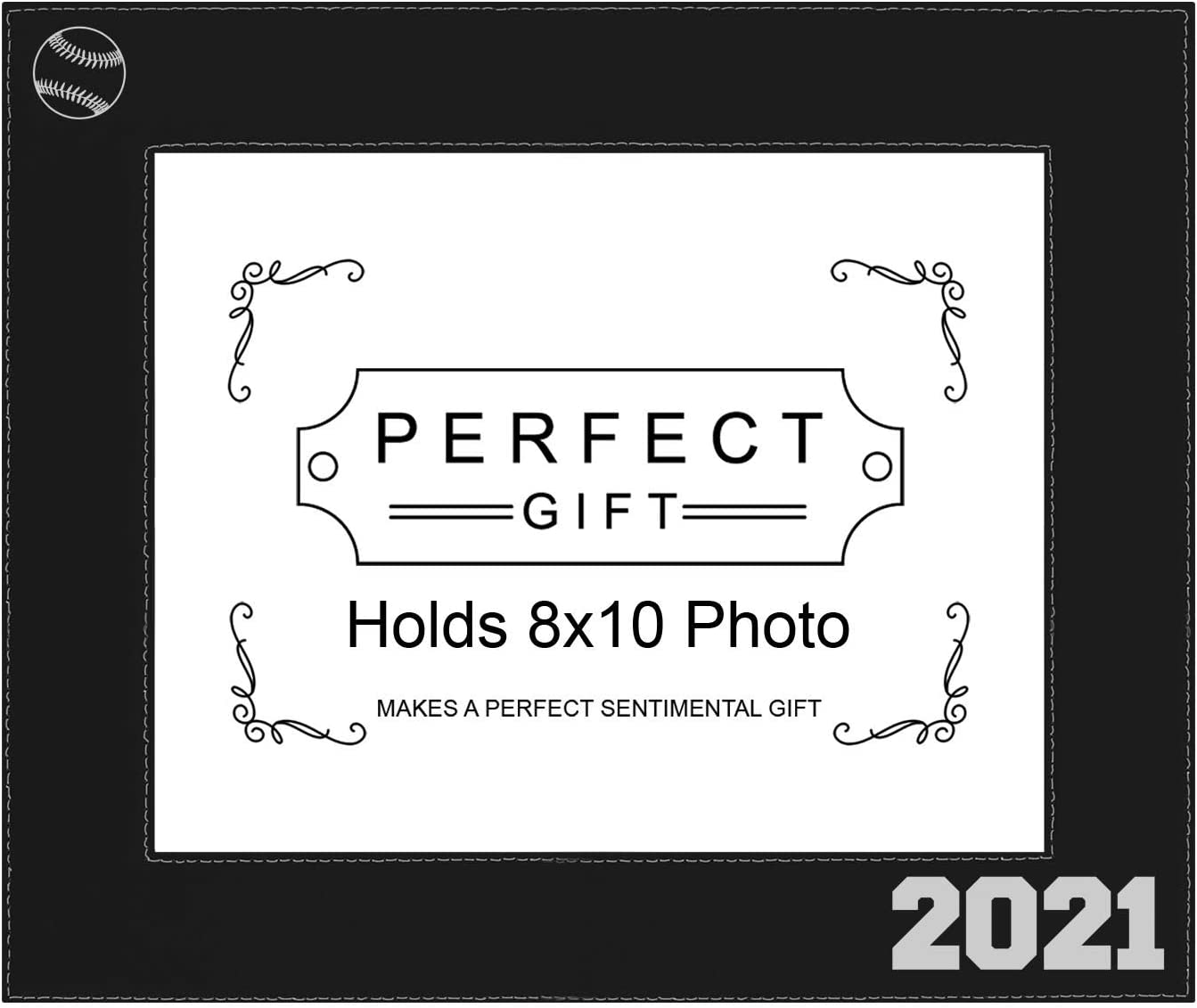 ThisWear Sentimental Photo Frame 8x10 Sales for sale Leatherette Baseball Safety and trust 2021