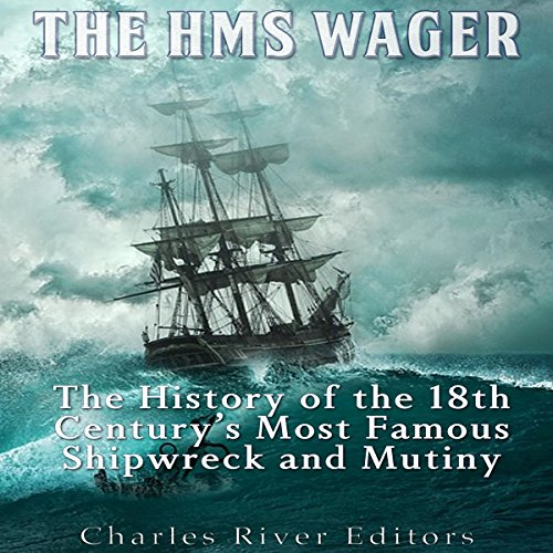 The HMS Wager audiobook cover art
