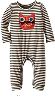 Funny Striped Cat Baby Boy Girl Coveralls 6-9 Months