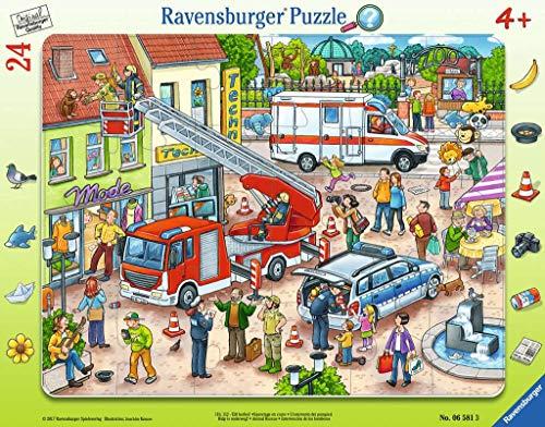 Ravensburger Kinderpuzzle 06581 - 110, 112 - Eilt herbei! - Rahmenpuzzle