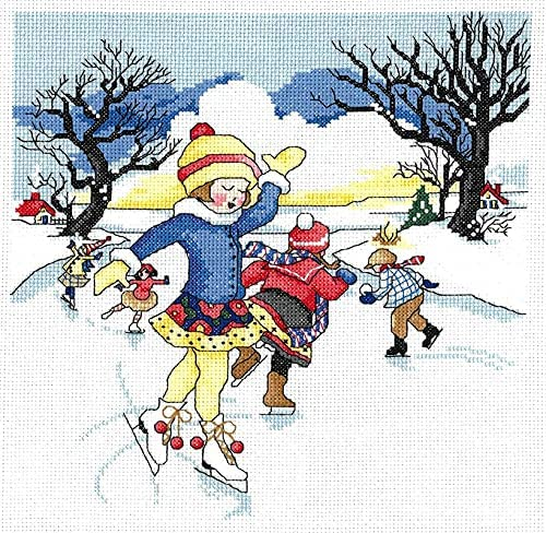 Winter Wonderland Counted Cross Selling rankings Kit Max 48% OFF Stitch