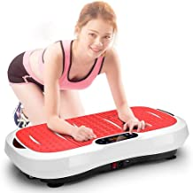 Fitness Vibration Plate Remote Control Smart Timing Low Noise Slimming Machine Fat Burning Fitness Machine Foot Magnet Shiatsu Massager kyman Estimated Price : £ 336,31