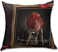 JTYHYRTUVE Soft Decorative Throw August Alsina Square Throw Pillow Covers Cases for Bedroom