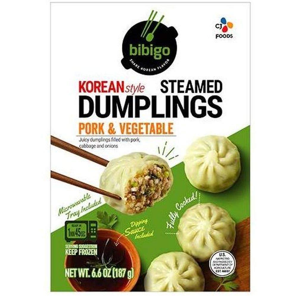 Schwans Bibigo Korean Style Pork and Vegetable PotstickersDumpling, 6.6 Ounce -- 9 per case.