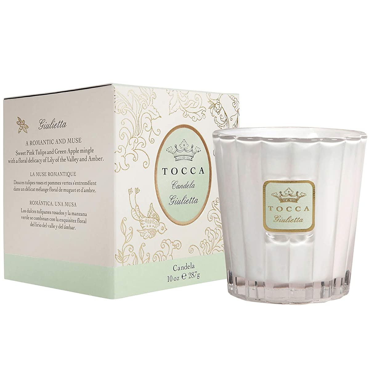 構築する興奮する実質的にトッカ(TOCCA) キャンドル ジュリエッタの香り 約287g (ろうそく 爽やかで甘い香り)
