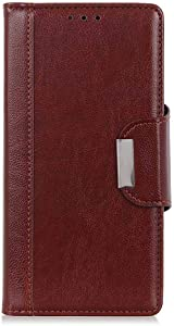 Apple iPhone iPhone Case THRION Premium Leather Flip Wallet Cover with Card Slot Holder and Magnetic Closure for Apple iPhone iPhone Brown