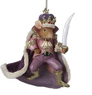 Kurt Adler 6 Inches Tall Nutcracker Suite Mouse King Ornament