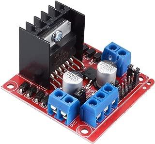 PChero L298N Motor Drive Controller Board Module, Dual H Bridge DC Stepper For Arduino Smart Car Robot