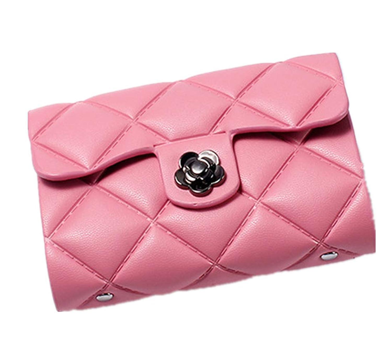 【Poiquks】26ポケット付き大容量 カードケース&ウォレット ぷっくり カワイイ 名刺入れ カード入れ ポイントカード クレジットカード 札入れ プレゼント(ピンク)