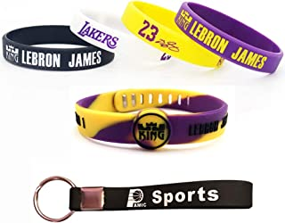 Silicone Wristband Bracelet -4 or 5PCS Assorted Color