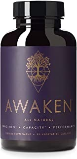 Awaken Premium Nootropic Supplement | Advanced All-Natural Brain Nutrition | Improves Brain Function, Capacity and Performance | 10 Premium Ingredients | 45 Servings