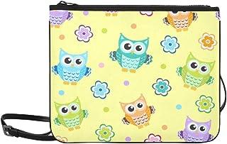 Owl Baby Texture Custom High-grade Nylon Slim Clutch Bag Cross-body Bag Shoulder Bag