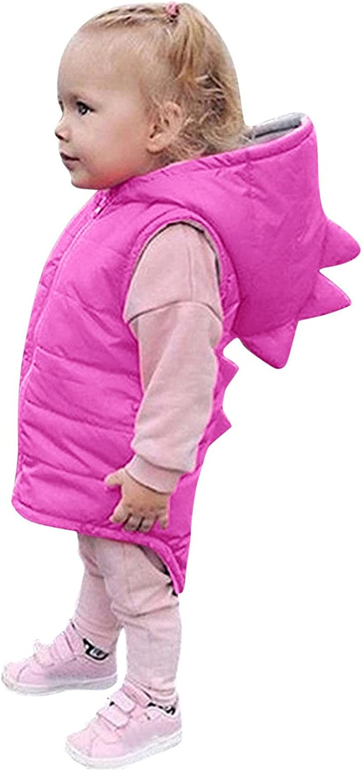 Now free shipping Toddler Baby Boy Girl 67% OFF of fixed price Cute Solid 3D Dinosaur Vest Winter Coat Wa