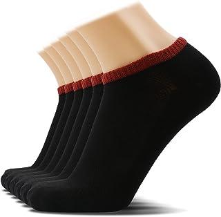 SOXTOWN Men's Low Cut Athletic Cotton Socks,6 Pairs Super Soft Durable No Show Casual Socks