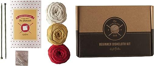 Knit Picks Learn to Knit Club: The Dishcloth - Beginner Knitting Kit