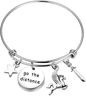 MAOFAED Hercules Inspired Bracelet Go The Distance Hercules Fan Gift Adventure Gift Inspiration Gift for Daughter Girlfriend
