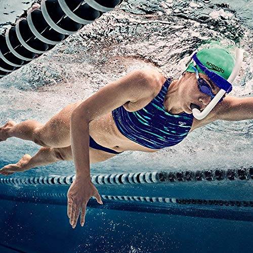 Speedo Unisex-Adult Swim Training Snorkel Bullet Head