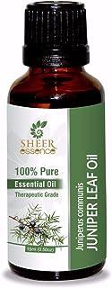 Juniper Leaf Oil (Juniperus Communis) Essential Oil 100% Pure Natural Undiluted Uncut Therapeutic Grade Oil 0.33 FL.OZ