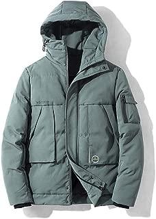 Winter Men Hoodies Coats 2019 Fashion Zipper Jacket Parka Outwear Long Sleeve Packable Light Overcoat 4XL