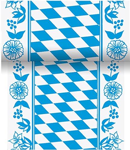 Duni Tischband aus Dunicel Damast-Druck Bayernraute, 15 cm x 20 m