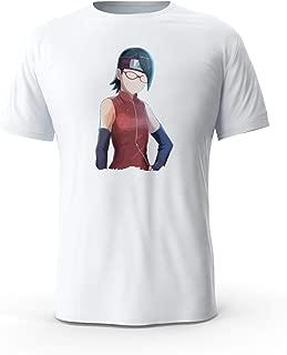 Total Basics - Sarada - Boruto, Anime, Manga - Premium Short Sleeve Shirt