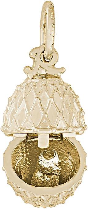 Huevo de Pascua encanto plata esterlina .925 X 1 eastr Easta huevos encantos